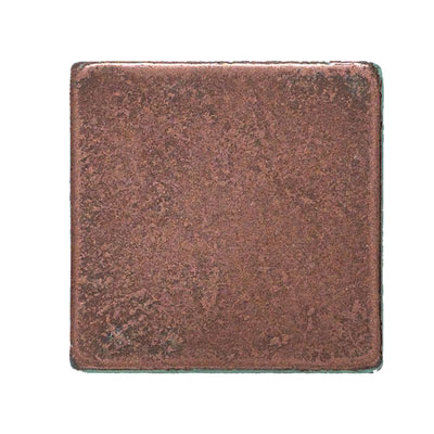 Daltile Castle Metals Aged Copper Basic Dot Tile & Stone