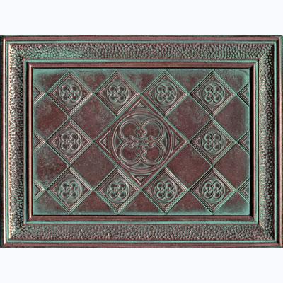 Daltile Castle Metals Aged Copper Clover Muriel Tile & Stone
