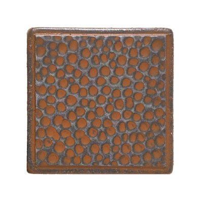 Daltile Castle Metals Wrought Iron Hammered Dot Tile & Stone
