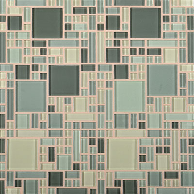 Daltile Circuit 12 x 12 Mosaic Allegro Tile & Stone