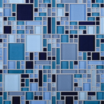 Daltile Circuit 12 x 12 Mosaic Largo Tile & Stone