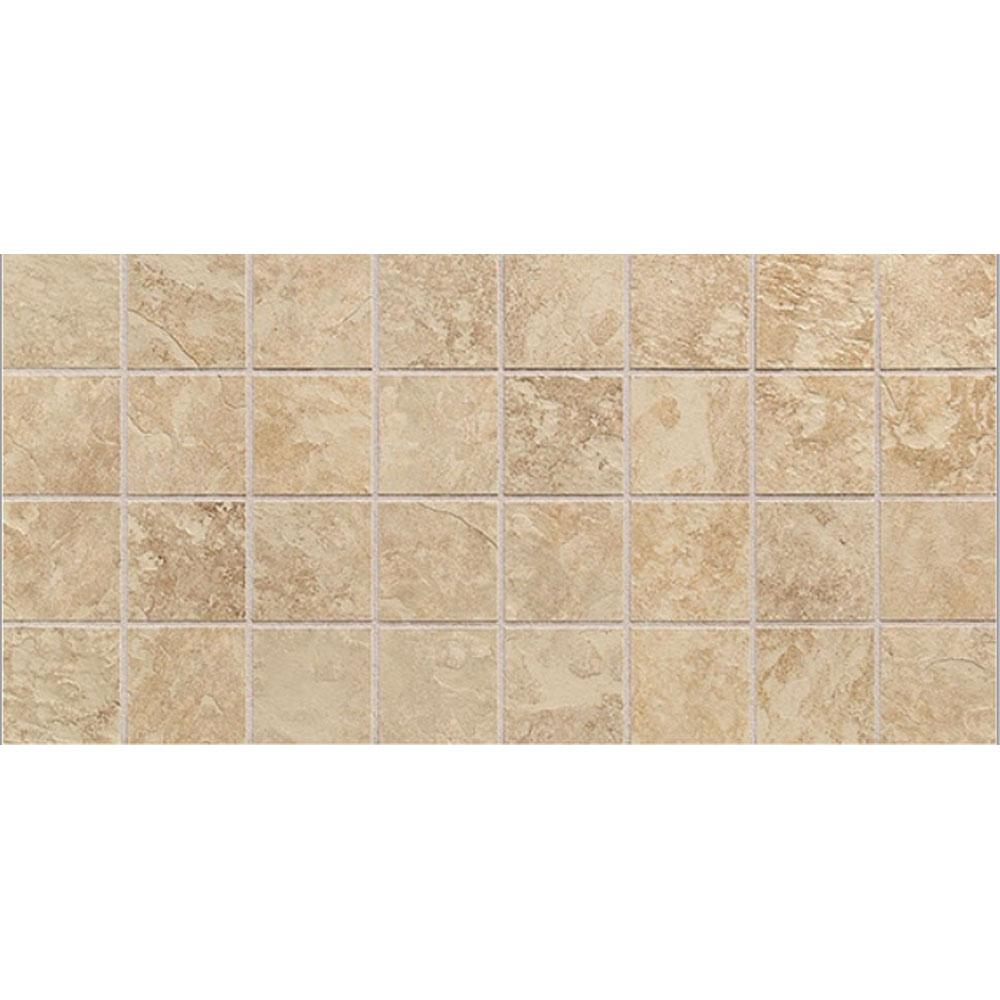 Daltile Continental Slate Mosaic 12 x 24 Egyptian Beige Tile & Stone