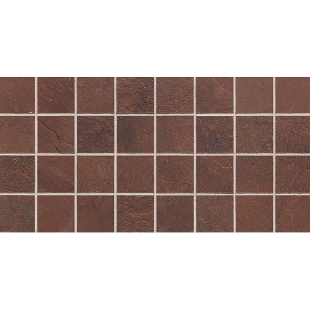 Daltile Continental Slate Mosaic 12 x 24 Indian Red Tile & Stone
