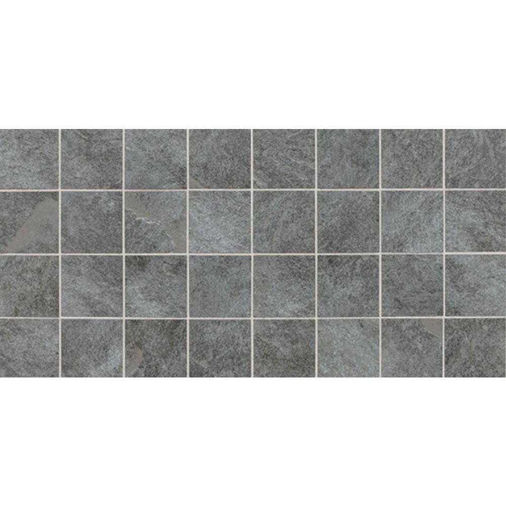Daltile Continental Slate Mosaic 12 x 24 English Grey Tile & Stone
