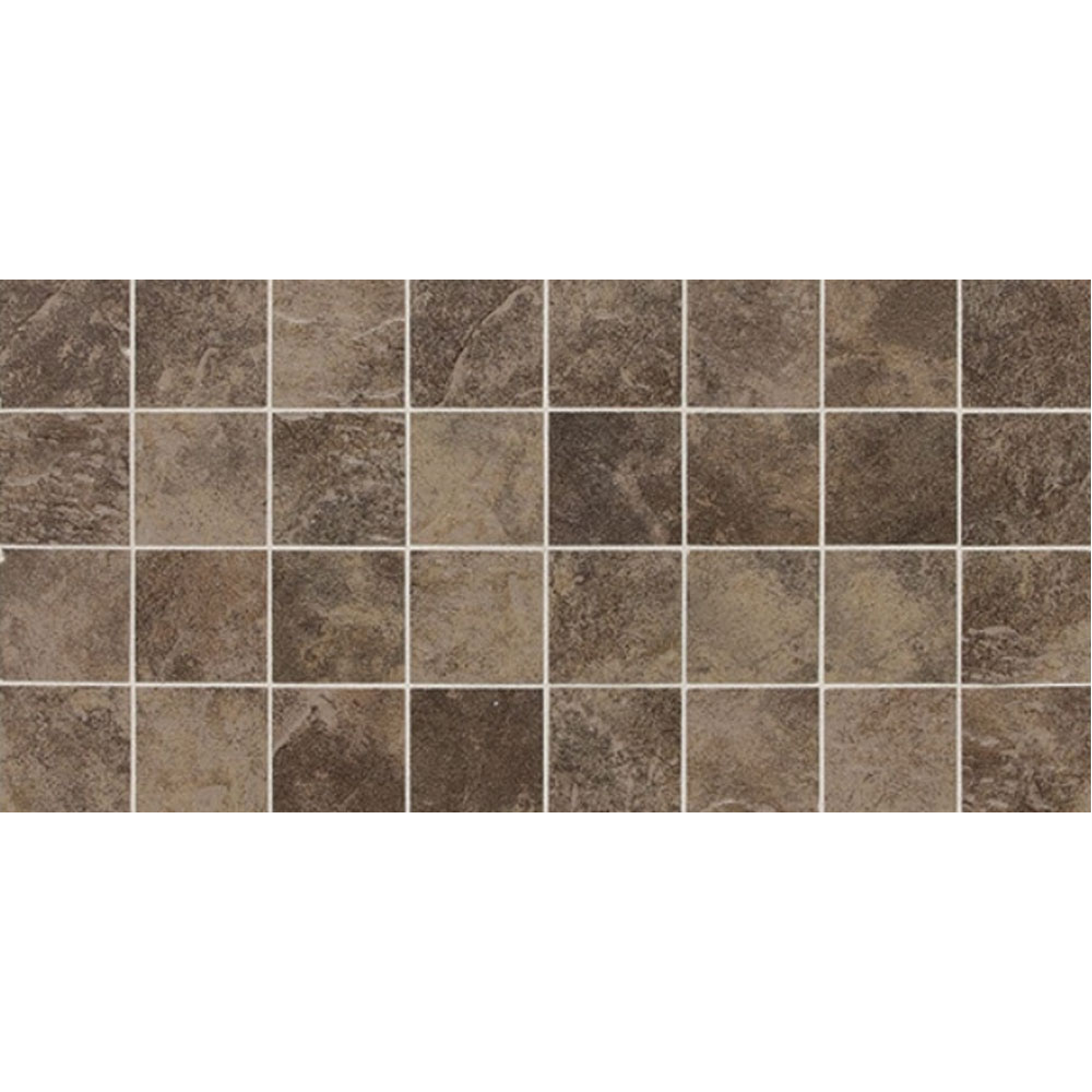 Daltile Continental Slate Mosaic 12 x 24 Moroccan Brown Tile & Stone