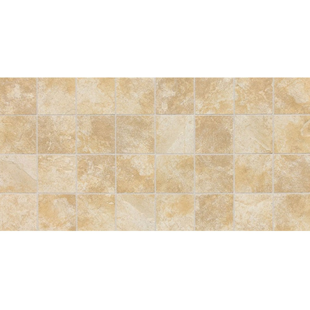 Daltile Continental Slate Mosaic 12 x 24 Persian Gold Tile & Stone