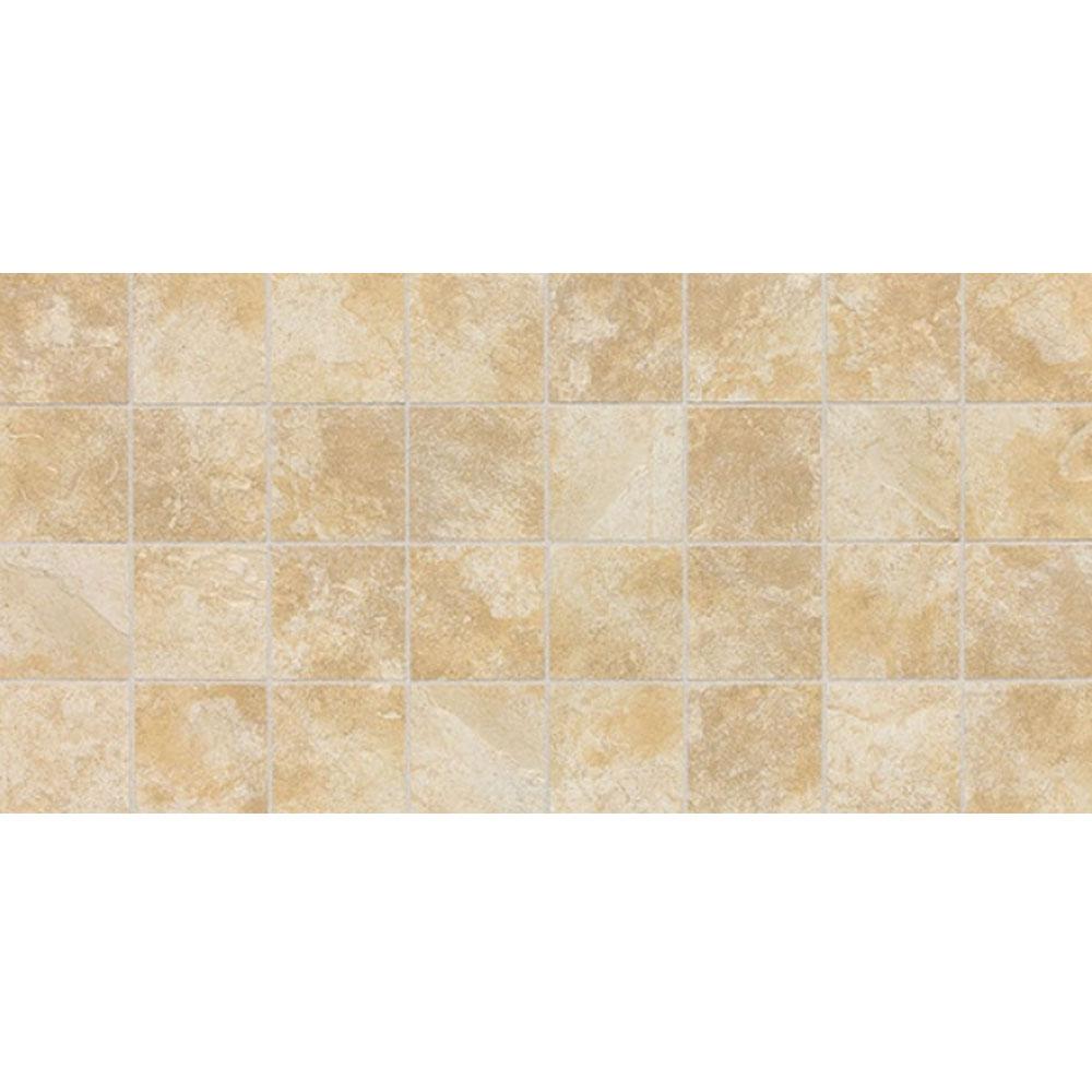 Daltile Continental Slate Mosaic 12 x 24 Persian Gold Tile & Stone
