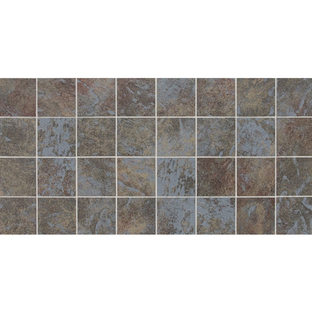 Daltile Continental Slate Mosaic 12 x 24 Tuscan Blue Tile & Stone