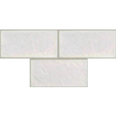 Daltile Cristallo Select 3 x 6 Mother Of Pearl Tile & Stone