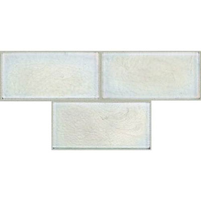 Daltile Cristallo Select 3 x 6 Zircon Tile & Stone