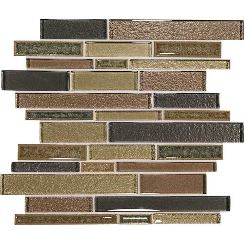 Daltile Crystal Shores Random Linear Mosaic Aurelian Seas Tile & Stone
