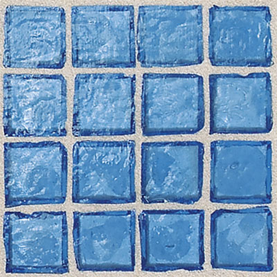Daltile Egyptian Glass Mosaics 1 x 1 Clear Mediterranean Tile & Stone