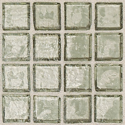 Daltile Egyptian Glass Mosaics 2 x 2 Clear Sand Tile & Stone