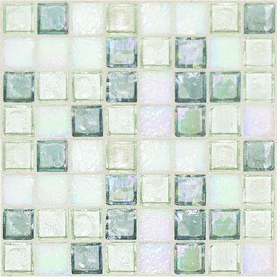 Daltile Egyptian Glass Mosaics 1 x 1 Blends Moonstone Blend Tile & Stone