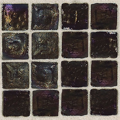 Daltile Egyptian Glass Mosaics 2 x 2 Iridescent Solid Luxor Tile & Stone