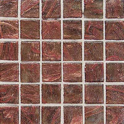 Daltile Elemental Glass Mosaic 3/4 x 3/4 Copper Kettle Tile & Stone