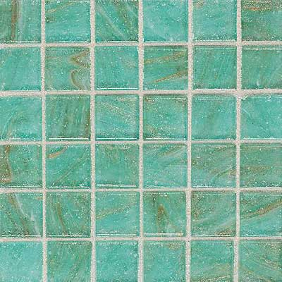 Daltile Elemental Glass Mosaic 3/4 x 3/4 Mint Julep Tile & Stone