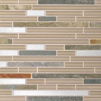 Daltile Endeavors Mosaic 5/8 x Random Meditation Tile & Stone
