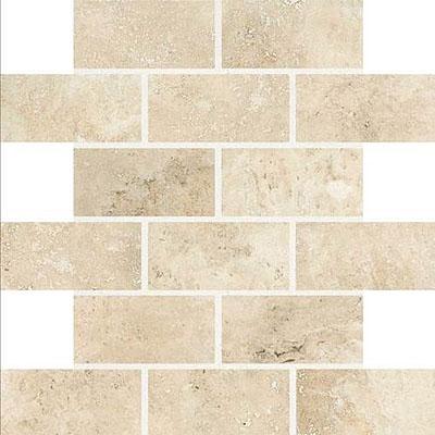 Daltile Esta Villa Mosaic 2 x 4 Terrace Beige Tile & Stone