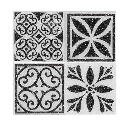 Daltile Fashion Accents Dots F06 White Tile & Stone