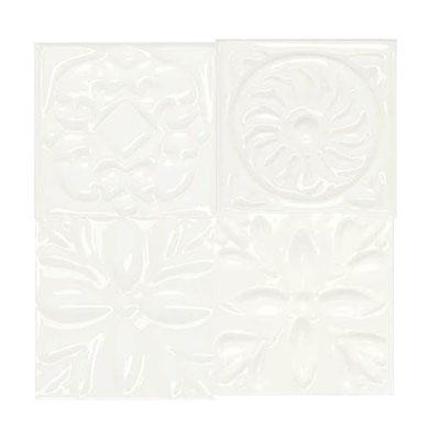Daltile Fashion Accents Dots FA07 White Tile & Stone