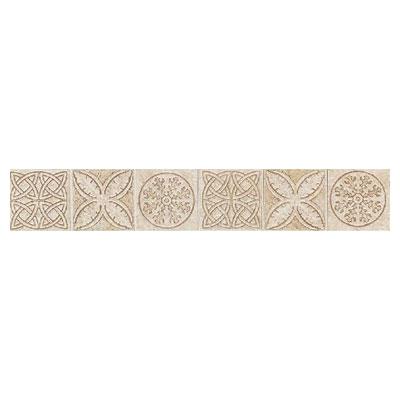 Daltile Fashion Accents Dynasty Liners/Dots FA23 Keltic Knots Sand Tile & Stone
