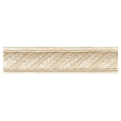 Daltile Fashion Accents Dynasty Liners/Dots FA77 Laurel Crema Tile & Stone