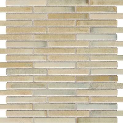 Daltile Fashion Accents Illumini 5/8 x 3 Mosaic F013 Sand Tile & Stone