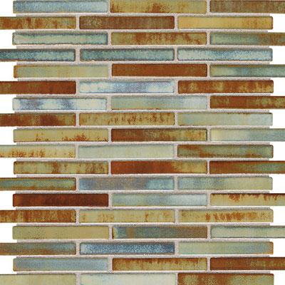 Daltile Fashion Accents Illumini 5/8 x 3 Mosaic F015 Lake Tile & Stone