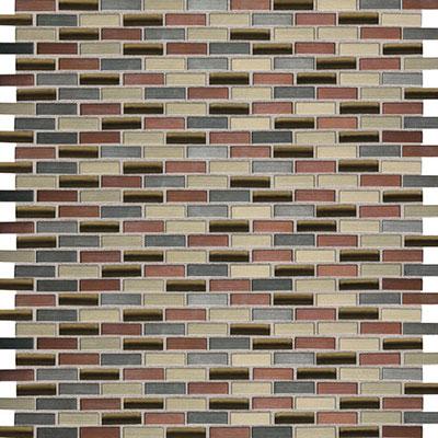Daltile Fashion Accents Shimmer Brix FA63 Copper Blend Tile & Stone