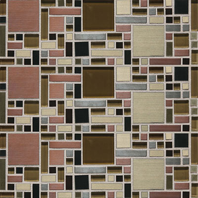 Daltile Fashion Accents Shimmer Fortress FA63 Copper Blend Tile & Stone