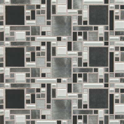 Daltile Fashion Accents Shimmer Fortress FA64 Nickel Blend Tile & Stone
