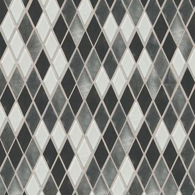 Daltile Fashion Accents Shimmer Harlequin Nickel Blend Tile & Stone