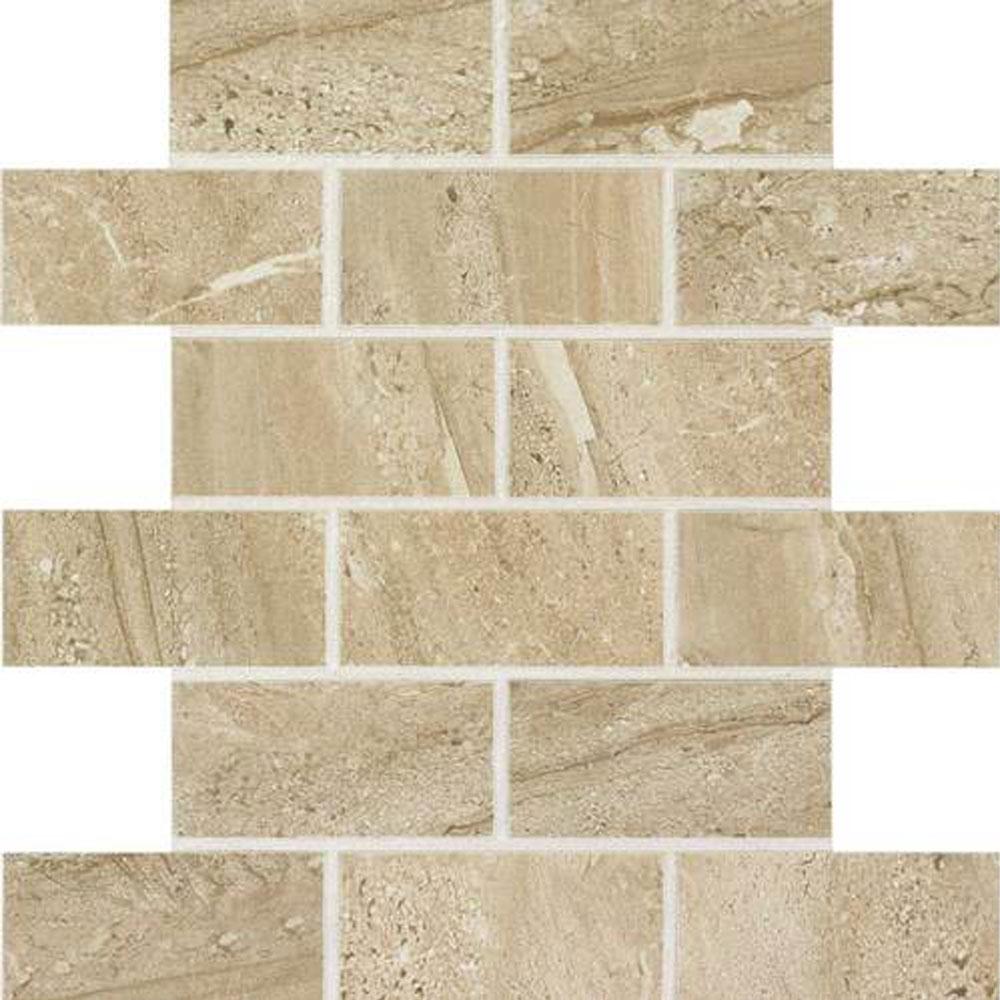 Daltile Florentine Brick Joint Mosaic (2x4) Nociolla Tile & Stone