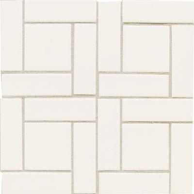 Daltile Earthen Art Folio #1 (1 x 4) Pinwheel Snowdrift Tile & Stone