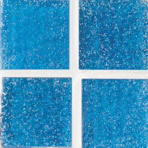Daltile Glass Mosaic - Venetian Glass 2 x 2 Cancun Blue Tile & Stone