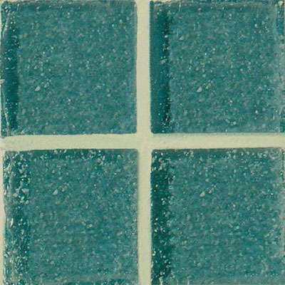 Daltile Glass Mosaic - Venetian Glass 3/4 x 3/4 Greenish Blue Tile & Stone