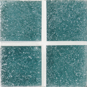 Daltile Glass Mosaic - Venetian Glass 3/4 x 3/4 Ixtapa Blue Tile & Stone
