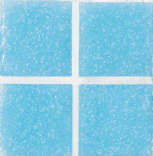 Daltile Glass Mosaic - Venetian Glass 3/4 x 3/4 Turquoise Tile & Stone