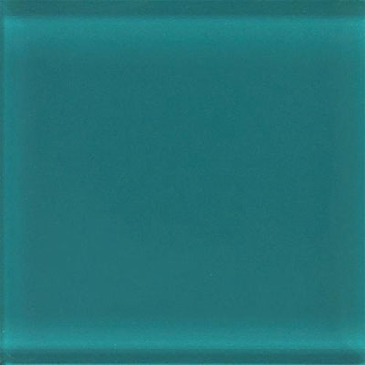 Daltile Glass Reflections 8 1/2 x 17 Frosted Almost Aqua Tile & Stone