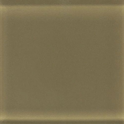 Daltile Glass Reflections 8 1/2 x 17 Frosted Olive Oil Tile & Stone