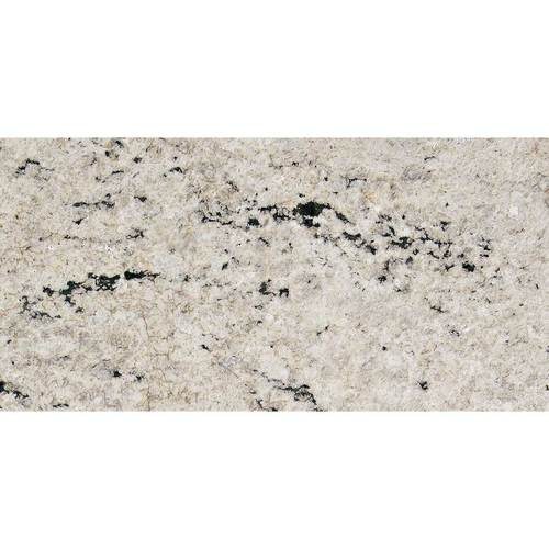 Daltile Granite 12 x 24 Flamed Cotton White Flamed Tile & Stone