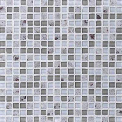 Daltile Granite Radiance Mosaic (PTS) Kashmir White Blend Tile & Stone