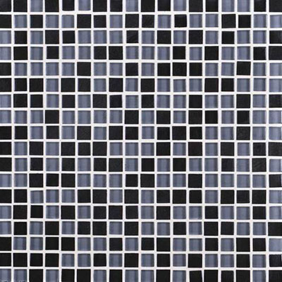 Daltile Granite Radiance Mosaic (PTS) Absolute Black Blend Tile & Stone