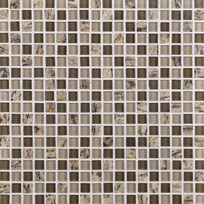 Daltile Granite Radiance Mosaic (PTS) Santa Ceclia Blend Tile & Stone