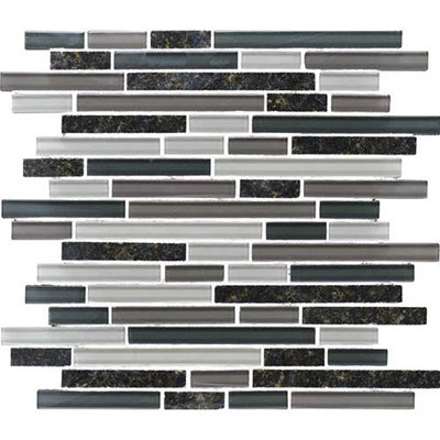 Daltile Granite Radiance Random Mosaic (PTS) Ubatuba Blend Tile & Stone