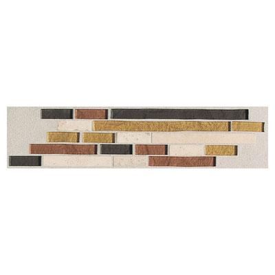 Daltile Innova Ceramic Borders Autumn Random Brick Border Tile & Stone