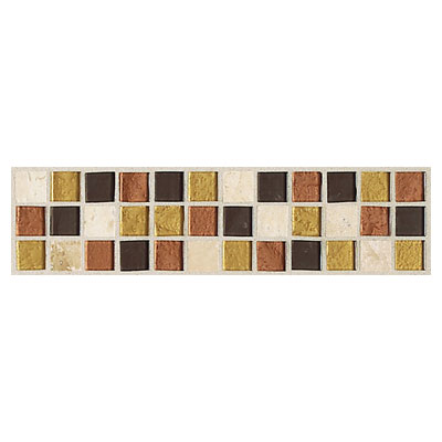 Daltile Innova Ceramic Borders Desert Canyon Border Tile & Stone