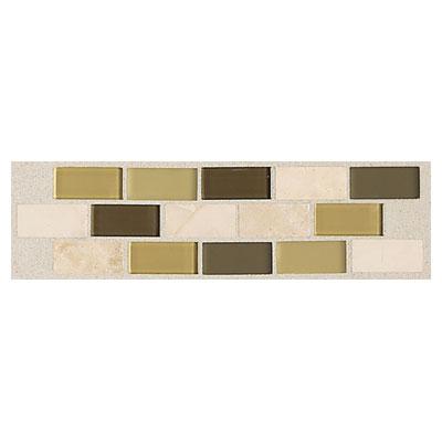 Daltile Innova Ceramic Borders Prairie Grasses Small Random Brick Border Tile & Stone