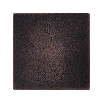 Daltile Ion Metals 4-1/4 x 4-1/4 Oil Rubbed Bronze Tile & Stone